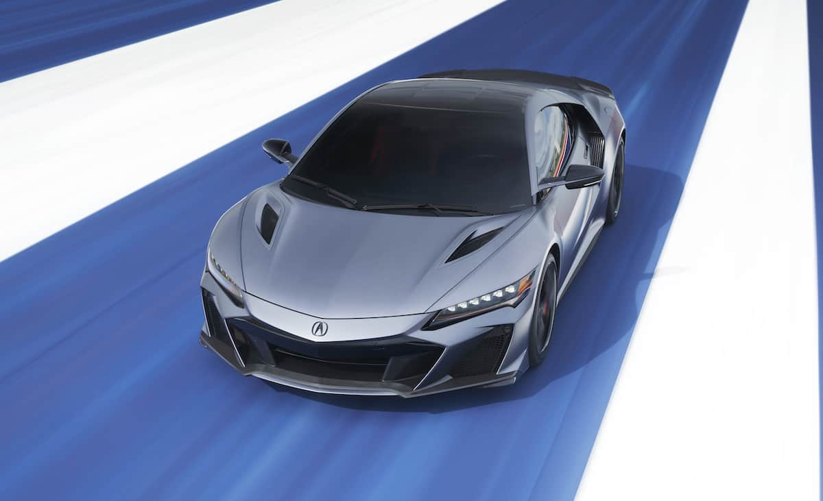 2023 Acura NSX Type S front