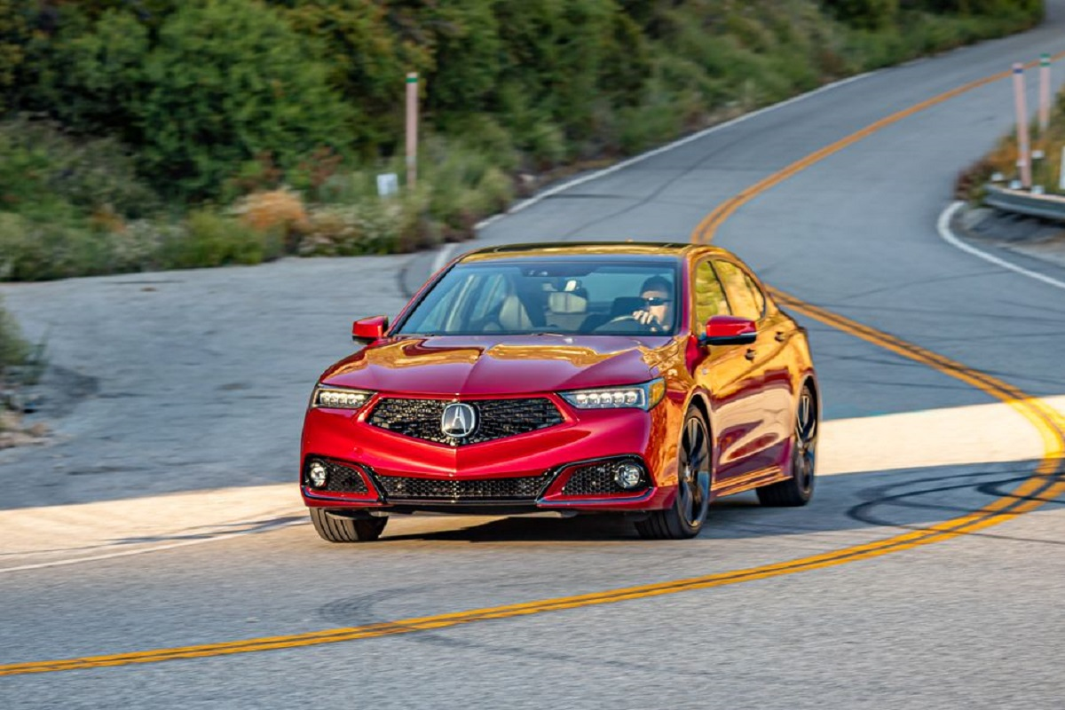 2023 Acura TLX front
