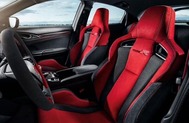 2023 Honda Ridgeline Type R cabin