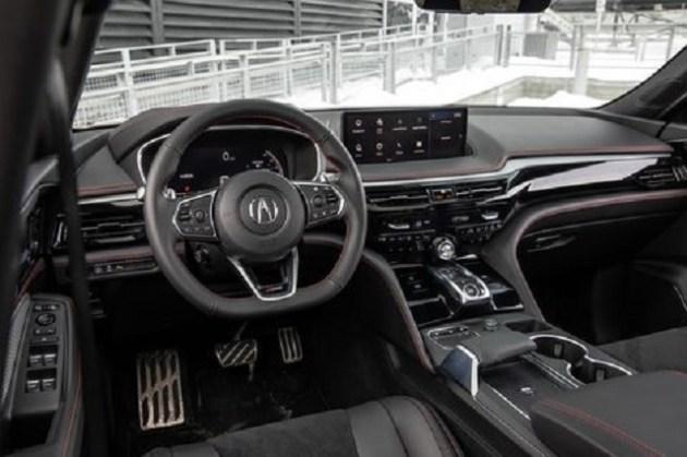 2023 Acura MDX Sport Hybrid interior