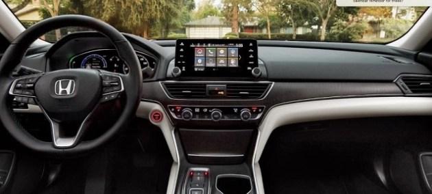 2023 Honda Accord Hybrid interior