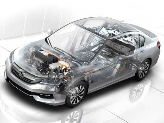 2023 Honda Accord Hybrid system