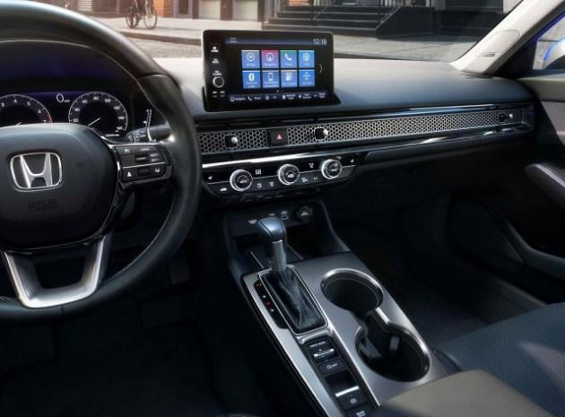 2023 Honda Civic Hybrid interior