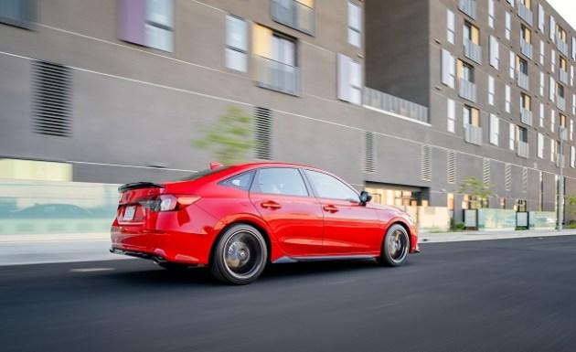 2023 Honda Civic Hybrid side