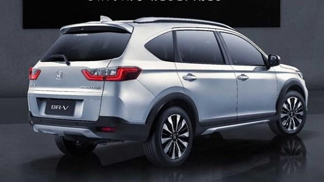 2023 Honda BR-V rear