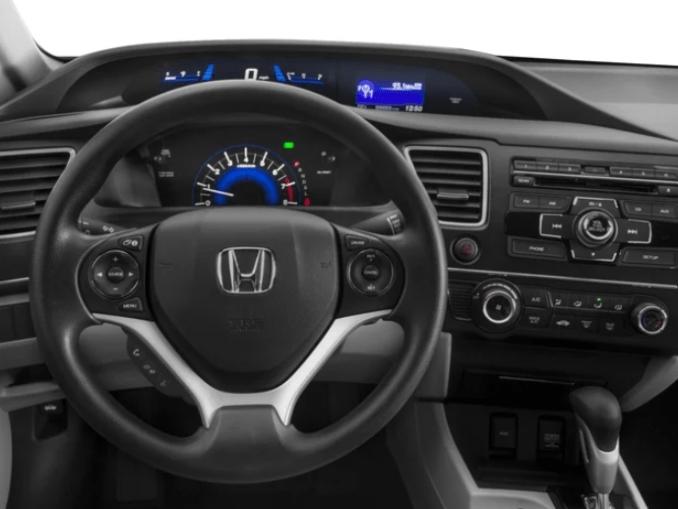 2019 Honda Civic Coupe Interior