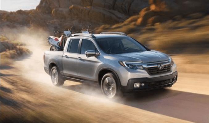 2019 Honda Ridgeline Exterior Changes