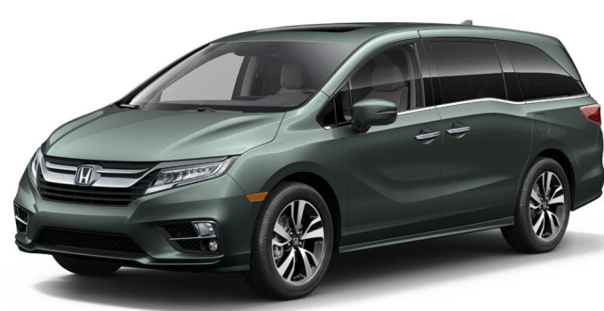 2020 Honda Odyssey Color Options Exterior