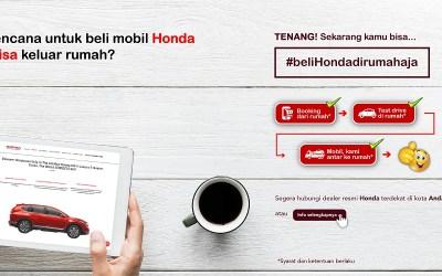 Honda Nengga Sediakan Layanan #beliHondadirumahaja
