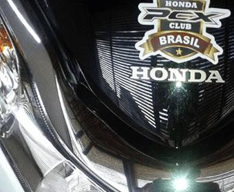 Adesivo Honda Scooter Brasil