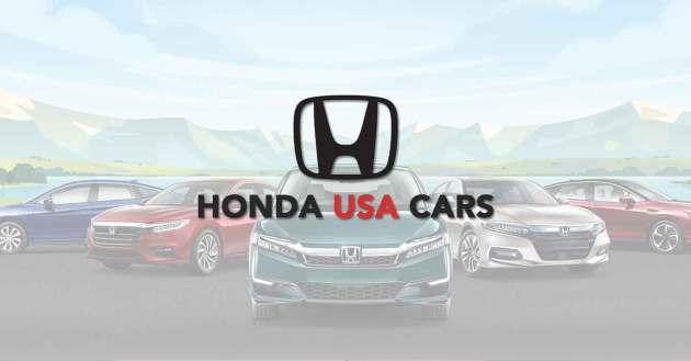 Honda USA Cars