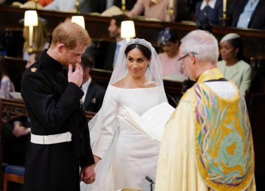 Enrique y Meghan modernizan la monarquía con una boda rompedora