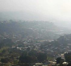 Incendios forestales incrementan nivel de contaminación en capital hondureña