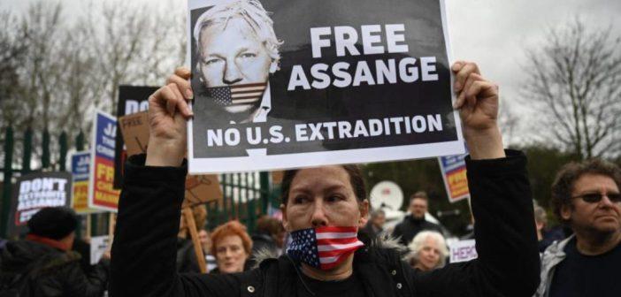 Assange, la prensa en peligro