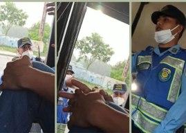 Dictan auto de formal procesamiento a policía que lanzó bomba lacrimógena en autobús de Choloma