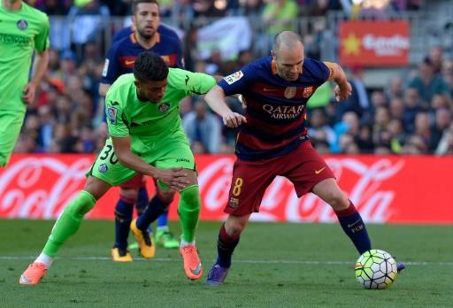 Resultado de imagen de Getafe - Barcelona accion