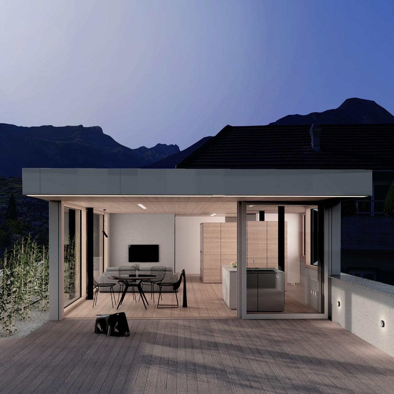 penthouse UNE MAISON DESIGN