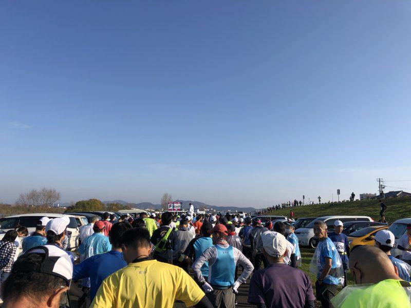 第30回記念加古川マラソンスタート前