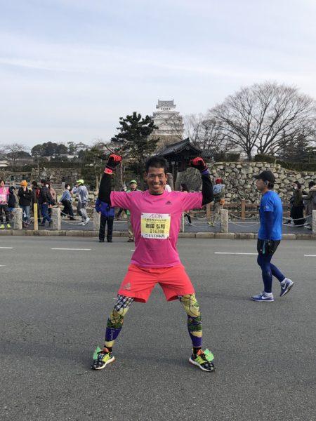 世界遺産姫路城マラソン2019 iwaさん