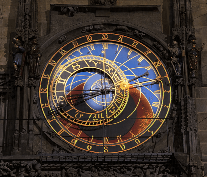 The astronomical clock in Prague is boring and totally overrated