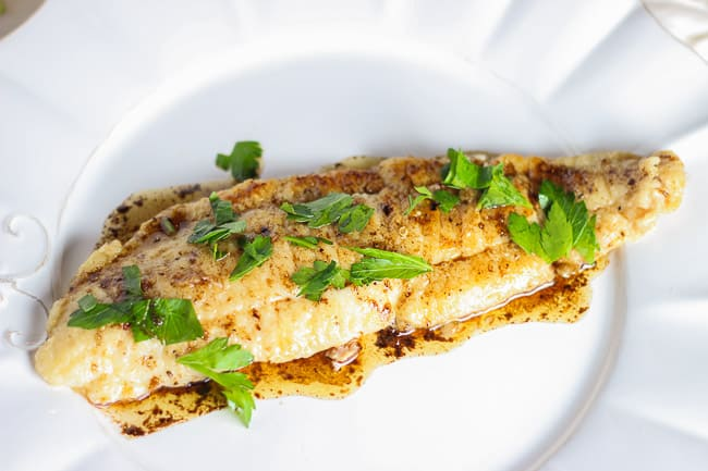Butter Cooked Fish