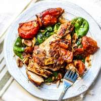 Rustic Balsamic Garlic Chicken