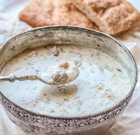 Aashe Doogh – A Delectable Yogurt-Based Persian Soup