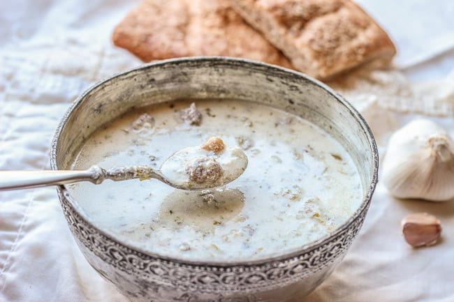 Aashe doogh a delectable yogurt based persian soup honest tasty aasheh dooghyogurt soupayrani aash 13 forumfinder Choice Image