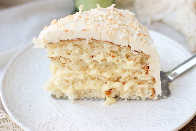 The Perfect Coconut Cake Honest Tasty