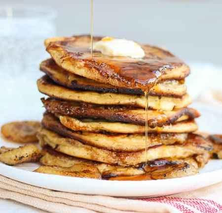 How To Make Really Good Banana & Brown Sugar Pancakes