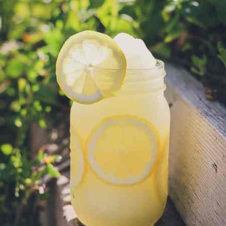 All-Natural Lemonade Slushy