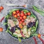 mediterranean tuna and potato summer salad-13