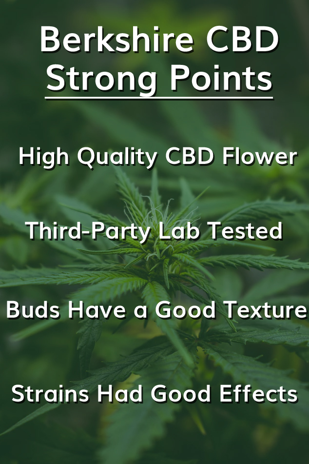 Berkshire CBD Review (In-Depth [High Quality CBD Flower]) | Honest