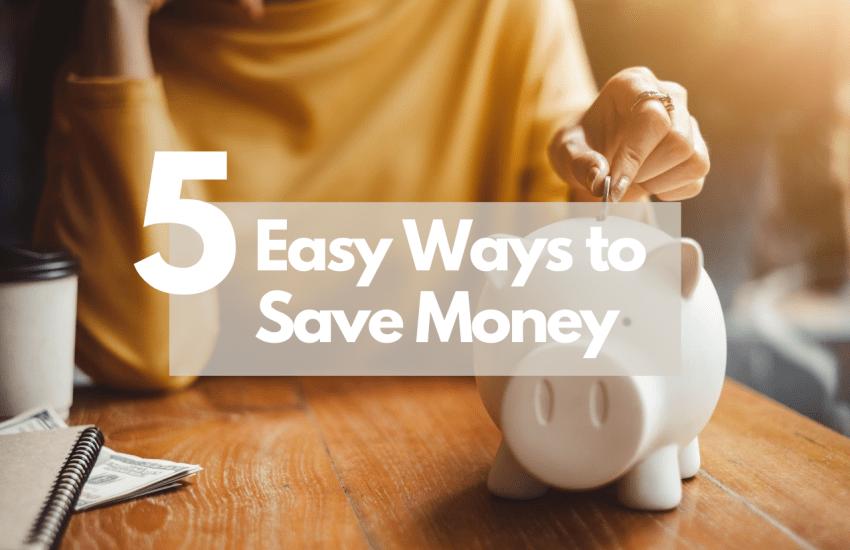 Putting money into a piggy bank