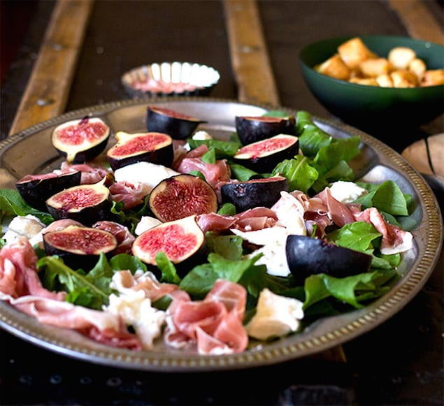 Image result for fig salad parma ham