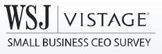 Wall Street Journal Vistage Logo Survey CEO