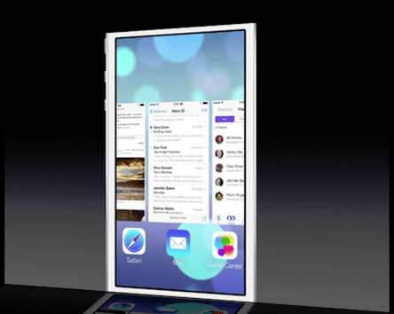 iOS 7 Multitasking now has Android features