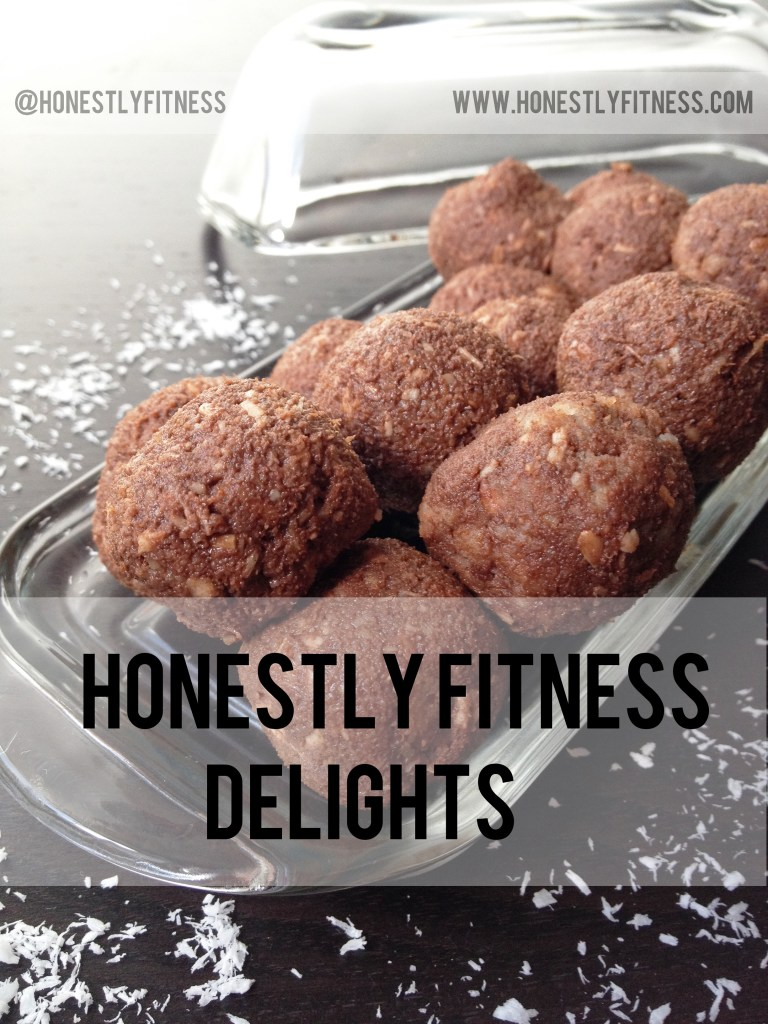 Honestly Fitness Delights raw dessert balls