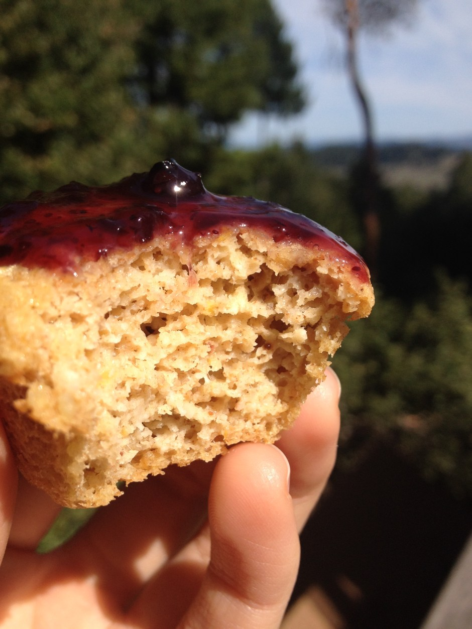 sugar free and refined free muffins