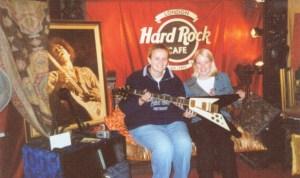 Meagan & Helen Hard Rock Cafe