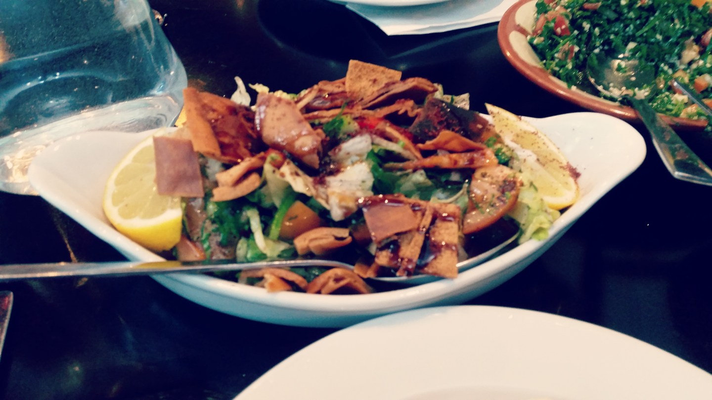 Review: Fattoush, Newcastle upon Tyne
