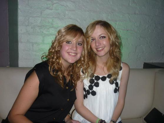 Me and Laura at Uni