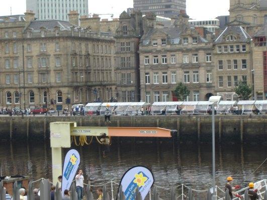 Helen's Zip Across the Tyne 21 Sept 2008 08