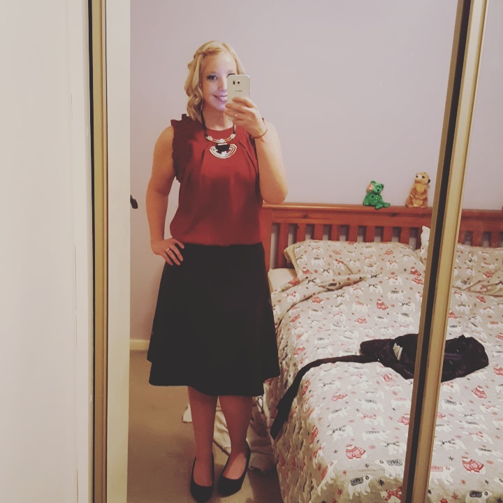 What I Wore – Christmas 2016