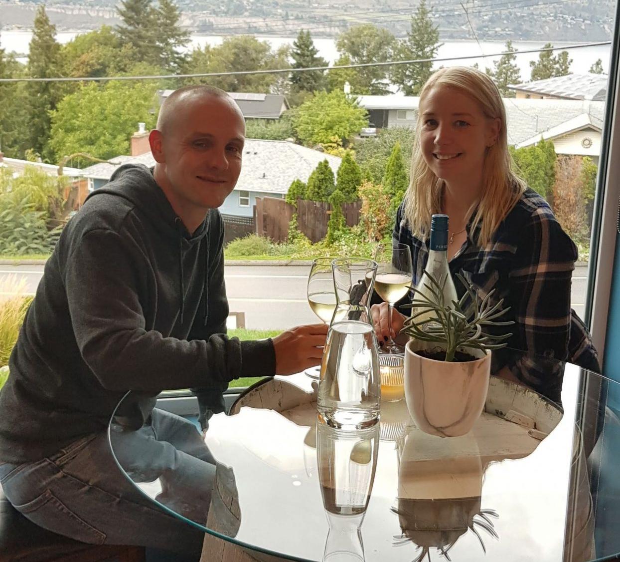 Wine tasting in British Columbia, Canada
