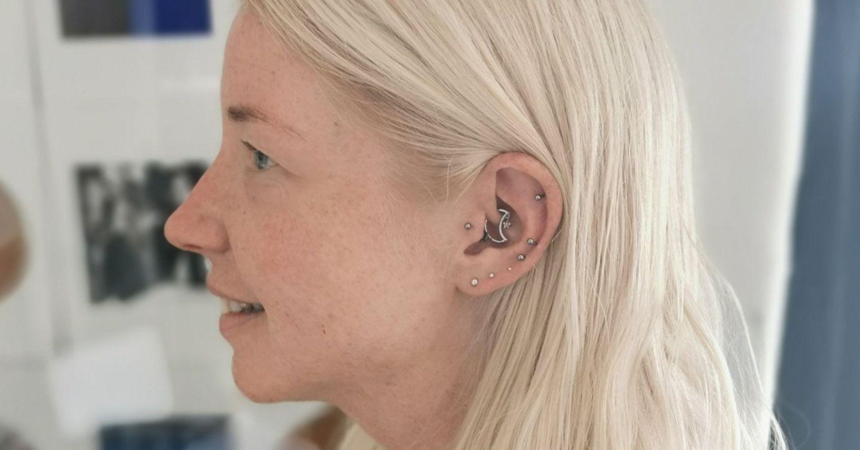 Daith ear piercing for migraines