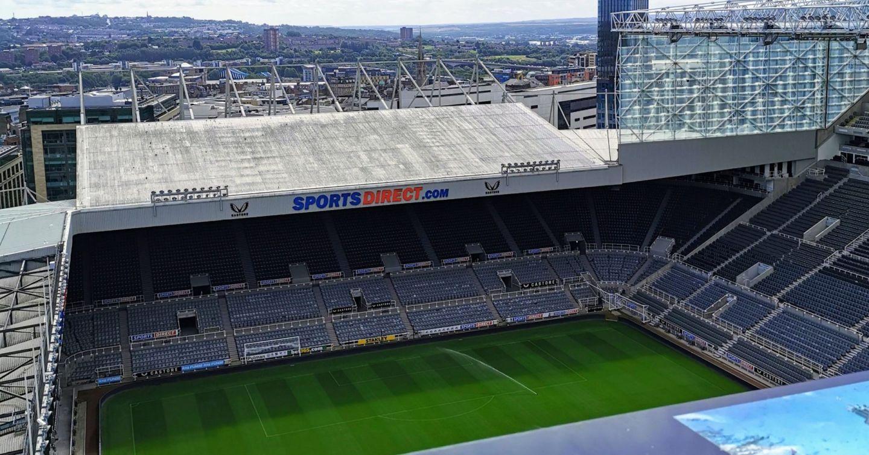 St James' Park Newcastle rooftop tour