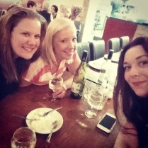 Turkish dinner with these lovelies