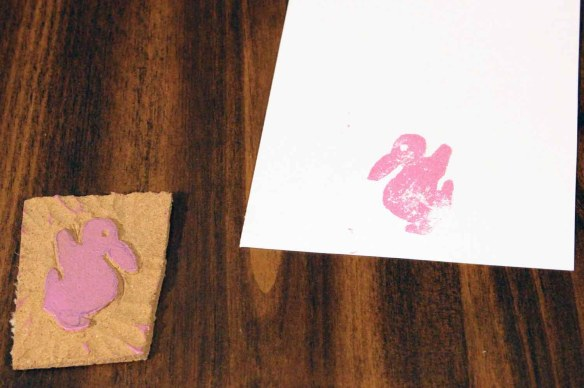 0640Bunny+Stamp