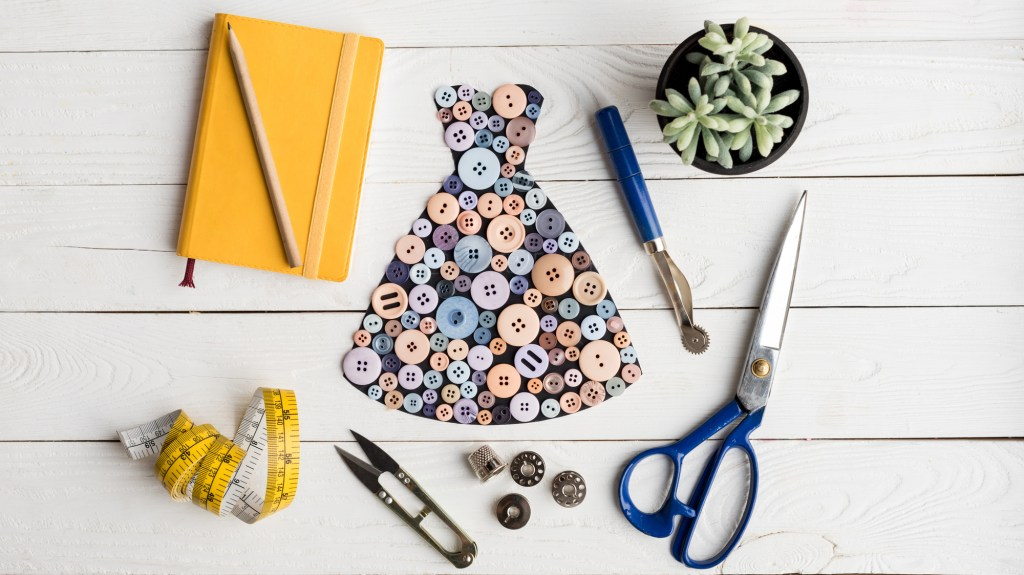Collection of sewing accessories